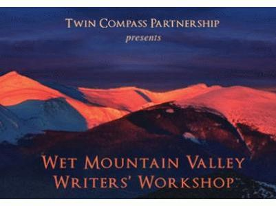 Wet Mountain Valley Writers' Workshops slideshow logo