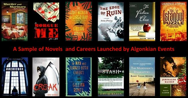 Algonkian Author Salon Commercial Novel Writing Program slideshow logo