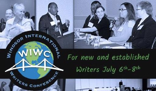 Windsor International Writers Conference slideshow logo