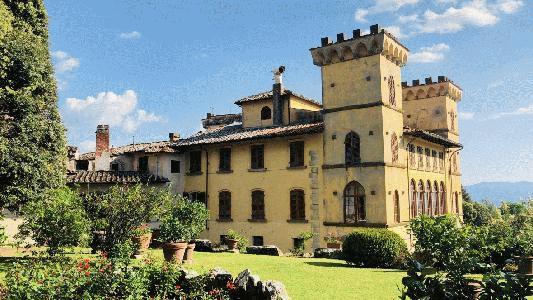 Write, Travel, Transform: Tuscany slideshow logo